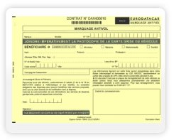 Eurodatacar Marquage Antivol Contrat